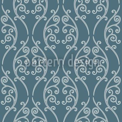 Blauer Zaungast Vektor Design
