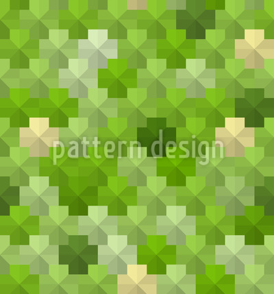 Pentagon Pixel Im Gras Rapport
