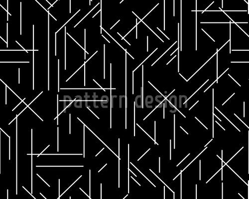 Linien Chaos Designmuster
