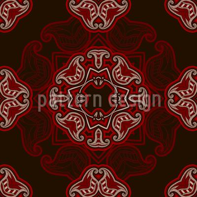 Wilder Orient Vektor Ornament