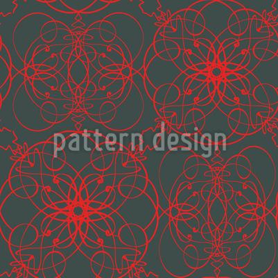 Floral Signs Pattern Design