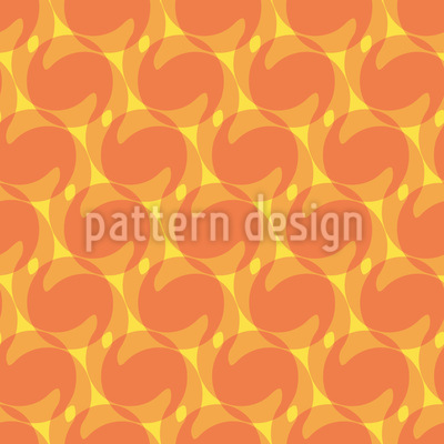 Föhnwellen Illusion Muster Design