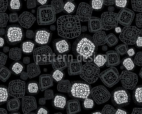 Figures Under The Microscope Vector Design