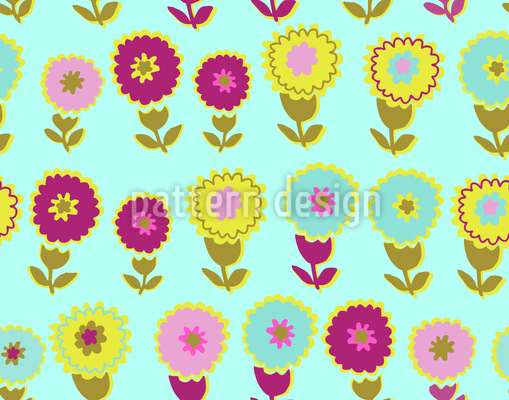 Flower And Water Vector Design