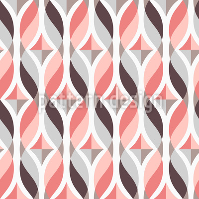 Wellige Bänder Vektor Design