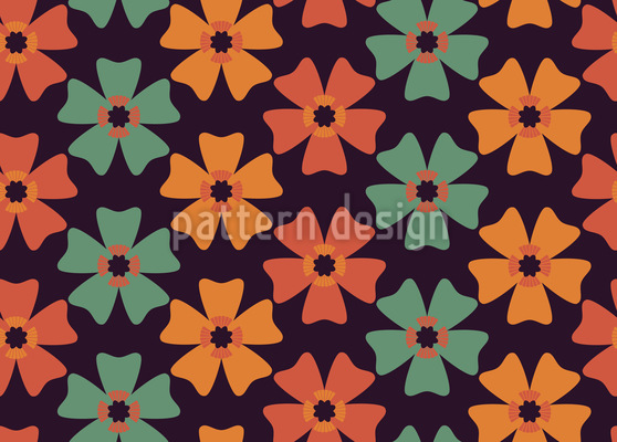 Flores Y Colores Pattern Design
