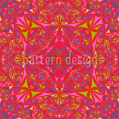 Kaleidoscopic Vision Seamless Pattern