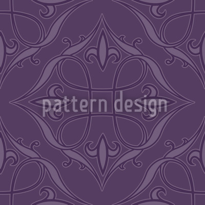 Renaissace In Purple Repeat Pattern