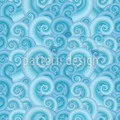 Wavy Fantasy Seamless Vector Pattern