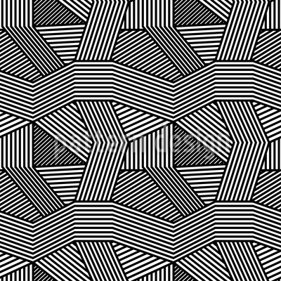 Geometric Chaos Repeating Pattern