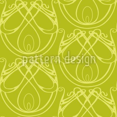 Art Nouveau Elegance Design Pattern