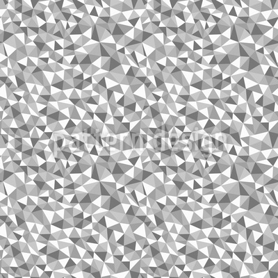 Mosaic Monochrome Repeat Pattern