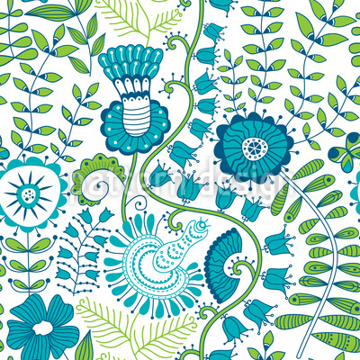 Secrets in the spring garden Design Pattern