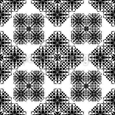 Spitzen Geometrie Muster Design