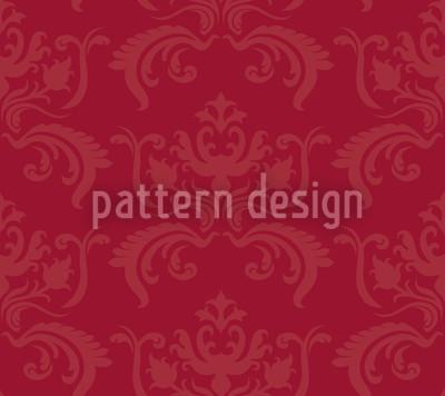 Portos Barock Rot Vektor Muster