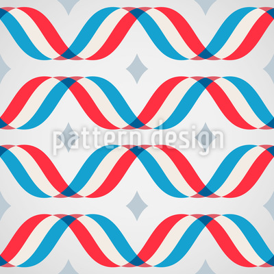 Macro Waves Tricolor Vector Design