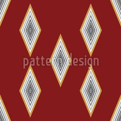Diamond Rain Pattern Design