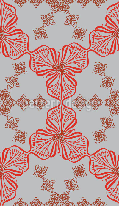 Bouquet Nostalgia Seamless Pattern