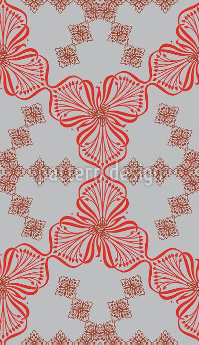 Bouquet Nostalgie Nahtloses Muster