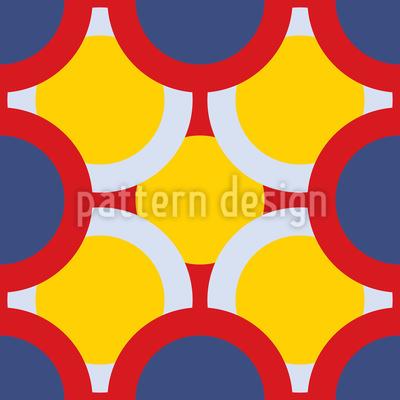 Kreise Verdecken Die Sonne Musterdesign