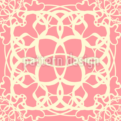 Delicate Lace Repeating Pattern