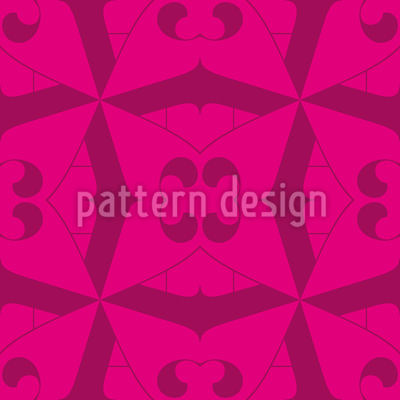 Butterfly Floral Design Pattern