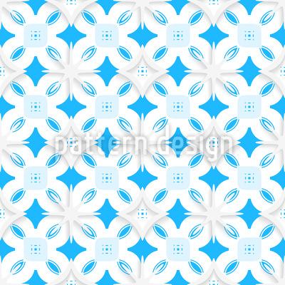 Schneeflocke Aus Papier Nahtloses Vektor Muster