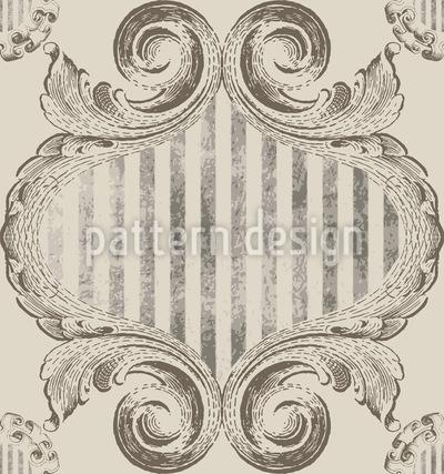 Königin Viktoria Rapportiertes Design
