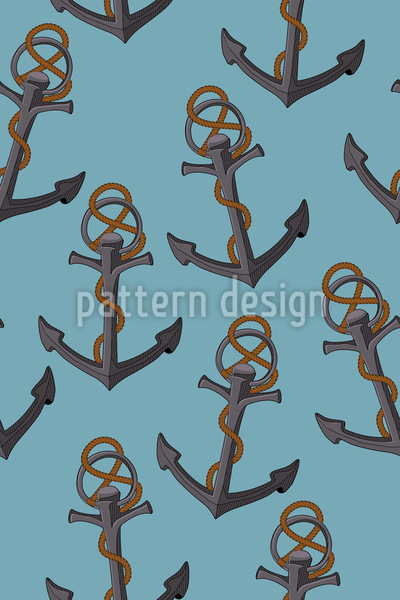 We Lying At Anchor Seamless Pattern