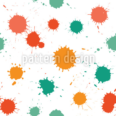 Splashes In The Studio Vector Pattern
