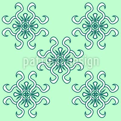 Florale Frühlingsgrüsse Muster Design