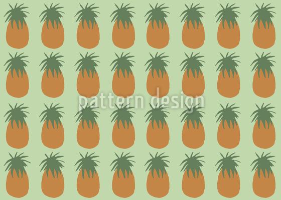Ananas Vektor Muster
