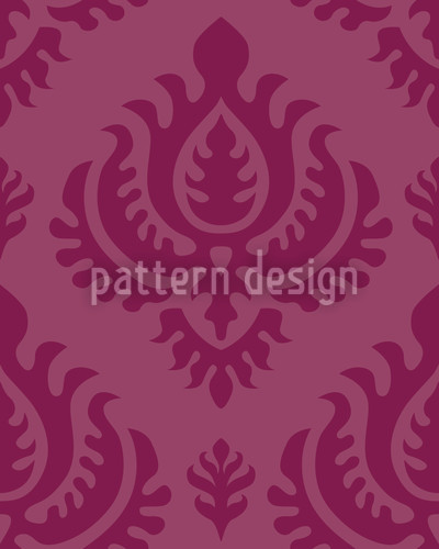 Purple Baroque Repeating Pattern