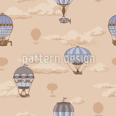 The Balloon Voyage Of The Montgolfier Brothers Vector Design