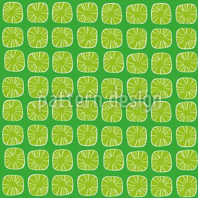 Zitronen Bonbons Vektor Ornament
