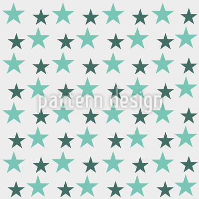 Cool Stars Seamless Pattern