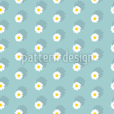 Field Of Daisies Vector Ornament