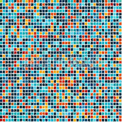 Fliesen Puzzle Nahtloses Vektor Muster