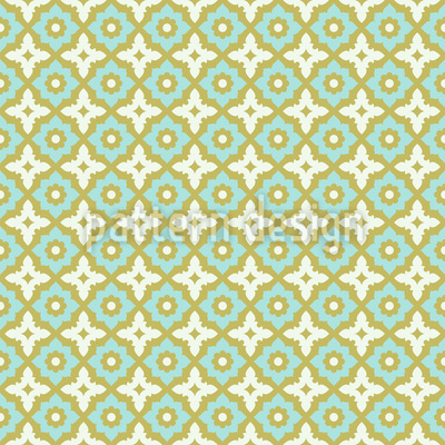 Flowers In Andalusia Repeat Pattern