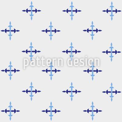Eiszapfen Kreuze Designmuster