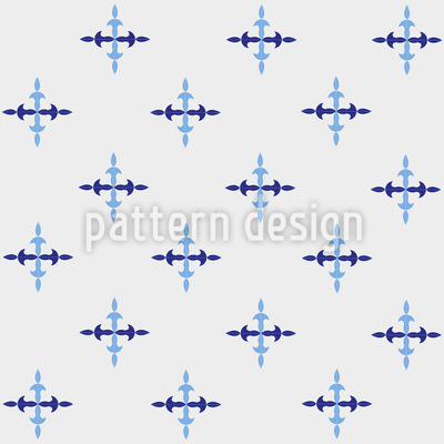 Icicle Crosses Design Pattern