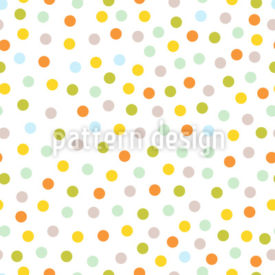 Dots In The Spring Vector Design