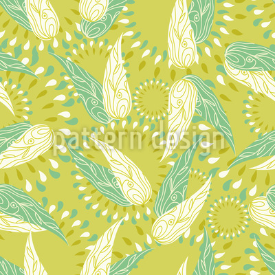 The Wings Of Spring Repeating Pattern