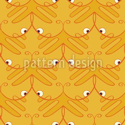 Tiger Tatze Vektor Muster
