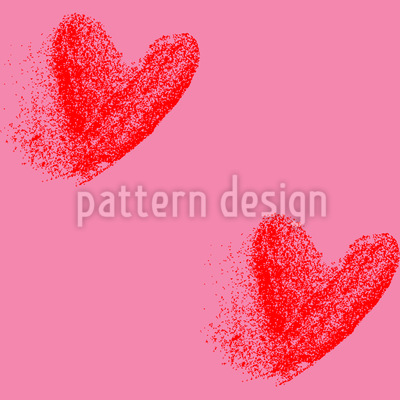 When Hearts Fade Pattern Design