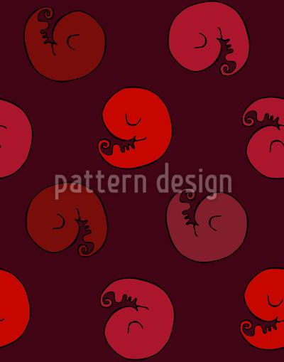 Kleine Embryos Muster Design
