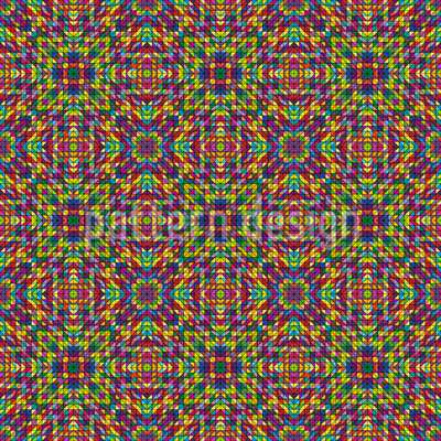 Summer Mosaic Design Pattern