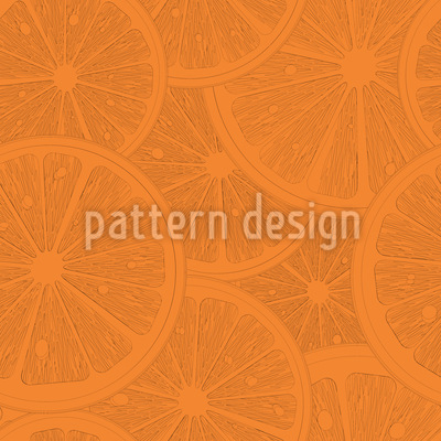 Tasty Grapefruits Repeating Pattern