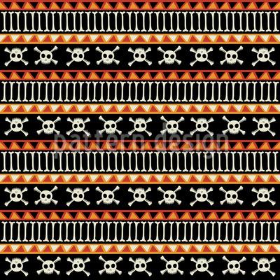Die Toten Ethno Piraten  Muster Design