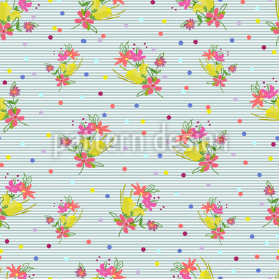 A Posy For You Pattern Design